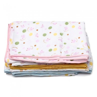 Baby Cotton Gauze Bath Towel Blanket 100x150cm Big 4 Layer Quilt