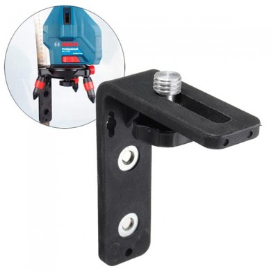 Laser Level Bracket Magnet Attracts Wall Mount L-bracket Leveling Support Tool