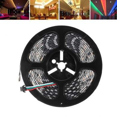 LUSTREON 1M 2M 3M 4M 5M IP65 SMD5050 IC UCS1903 Programmabile Magia Colore LED Strip Light DC12V