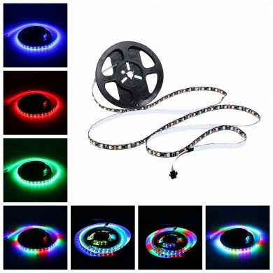 LUSTREON 1M 2M 3M 4M 5M Wateproof SMart IC UCS1903 Pixel programmabili Pixel LED Strip Light DC12V