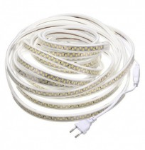 10M Waterproof SMD5730 5630 Dimmable LED Strip Rope Light EU Plug for Home Decoration AC220V