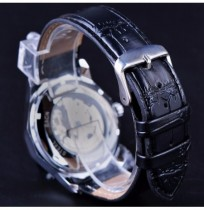 GMT964 Transparent Skeleton Dial Men Watch Automatic Mechanical Watch