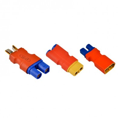 XT60 Male Female to EC3 Male Female Plug T Male to EC3 Female Plug Connector for RC Model