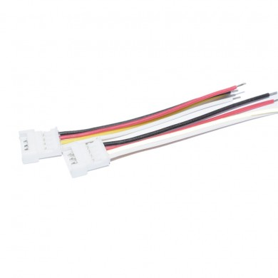 10 PCS JST-SH 1.25mm 4 Pins 4P Flight Controller ESC Silicone Connection Wire for RC Drone FPV Racing