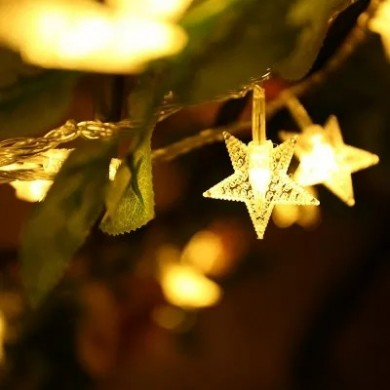 KCASA DSL-6 садоводство 5M 40LED String Light Star Shape Holiday Garden Party Свадебное Украшение