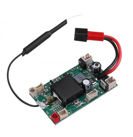 XK 2.4GHz 4CH Receiver Receiving Board Spare Part For XK X420 420mm 3D6G VTOL FPV RC Airplane