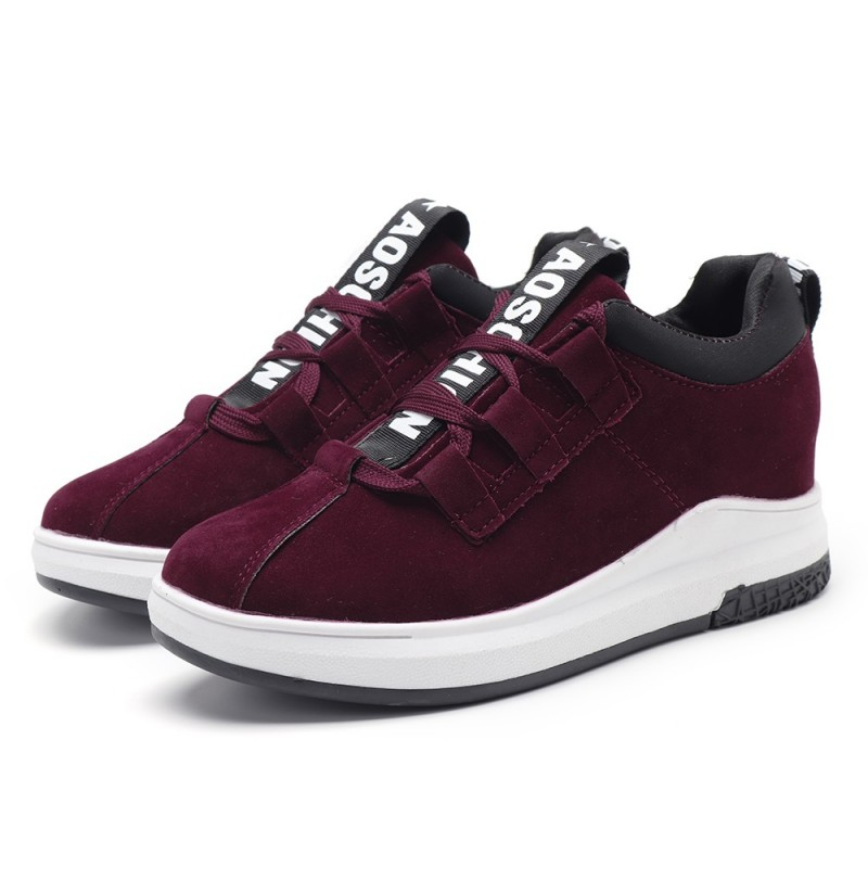 Women Casual Outdoor Platforms Casual Sneakers (Color: Red, Size(US): 7) фото