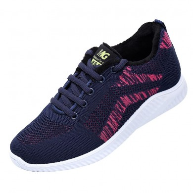 Breathable Lining Lace Up Casual Shoes
