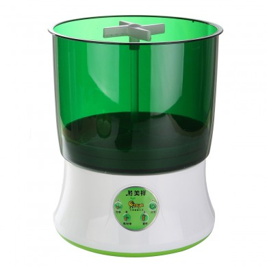 220V Intelligent Fully-Automatic House's Bean Sprouts Machine Seed Cereal Tool