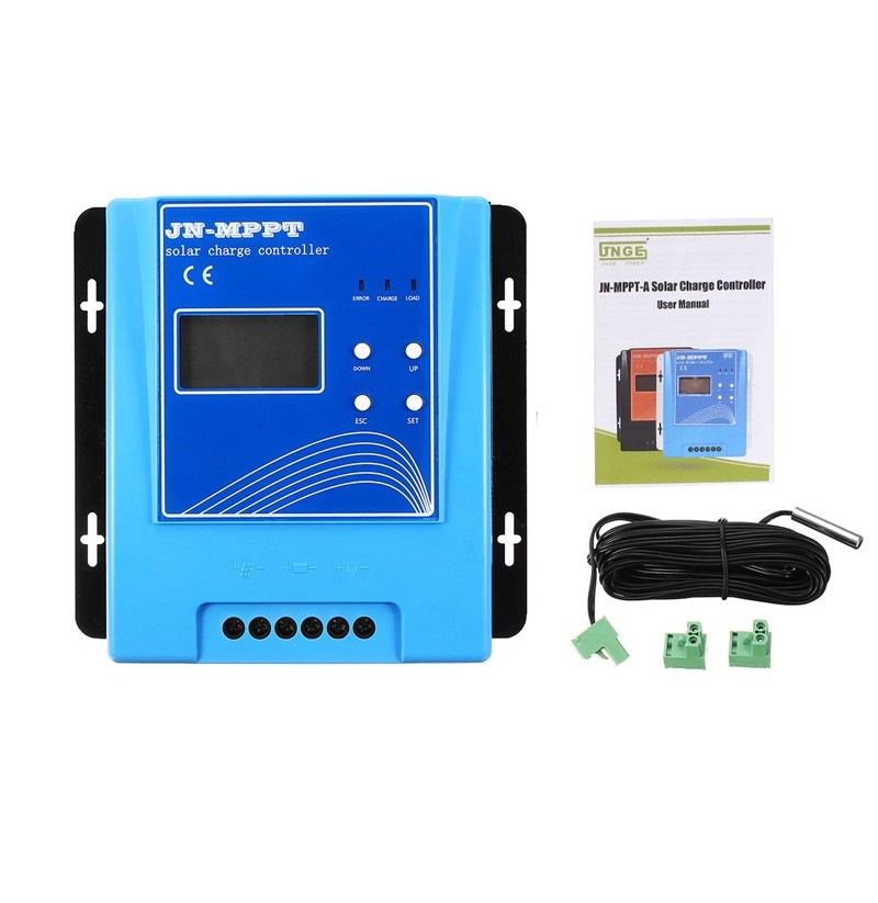 10A 12V/24V/48V Automatic Identification 150V MPPT Solar Charge Controller With USB-RS232 Cable фото