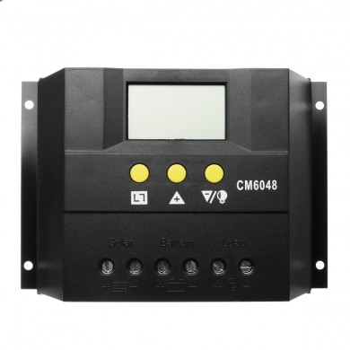 12V/24V 80A PWM Solar Charge Controller LCD Display Battery Charger Regulator