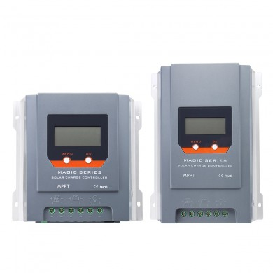 30A/40A LCD Display MPPT Solar Charge Controller 12V/24V Auto Battery Regulator