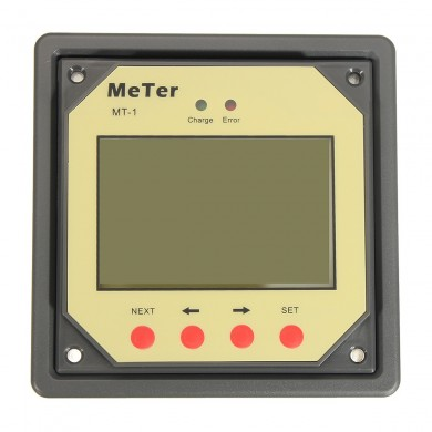 Remote Meter LCD Display Solar Charge Controller Meter Dual Battery Solar Panel Charging System MT1 10m