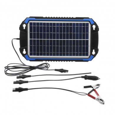18V 6W/8W Portable Solar Panel Power Car Battery Charger For Car Boat Charging