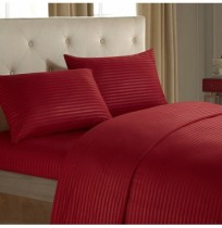 Honana Striped Bed Sheet Set 3/4 Piece Highest Quality Brushed Microfiber Wrinkle & Fade & Stain Resistant Bedding