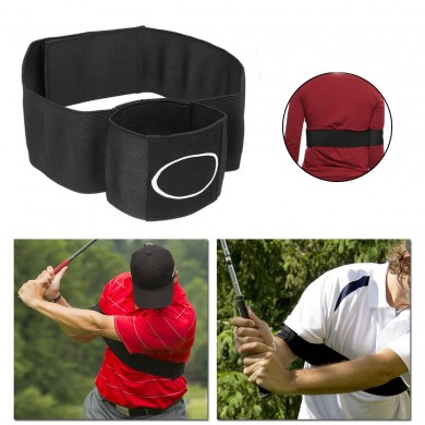 Golf Connect Easy Swing Trainer Sports Training Practice Aid Ball Strike Posture Corrector Strap