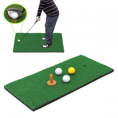 Golf Colocación de esteras de entrenamiento Nylon Turf chipping Driving Range Practice Indoor