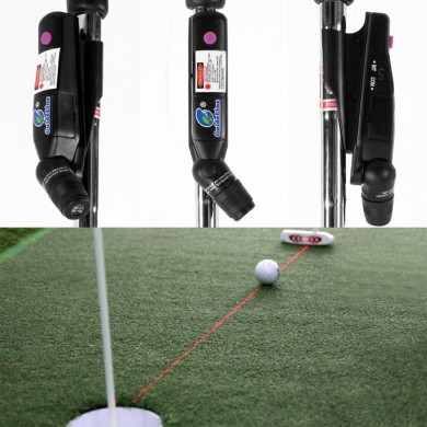 Outdoor Golf Putter Laser Sight Pointer Putting Training Aim Line Corrector Golf Practice Indoor Training Aids