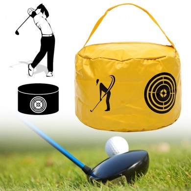 Golf Impact Power Bag Swing Aid Practice Training Strike Bag Hit Trainer Tool