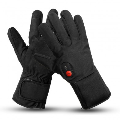 7.4V 2200mah Electric Heated Gloves Motorcycle Winter Warmer Outdoor Skiing 3-Speed Temperature Adjustment