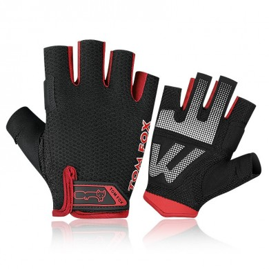 Men Women Half Finger Guanti Idoneità Cycling Bike Bike Training Gym Esercizio sportivo