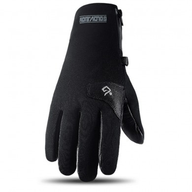 Winter Motorcycle Gloves Windproof Waterproof Anti-slip Adjustable Warm Leather Touchscreen Thicken