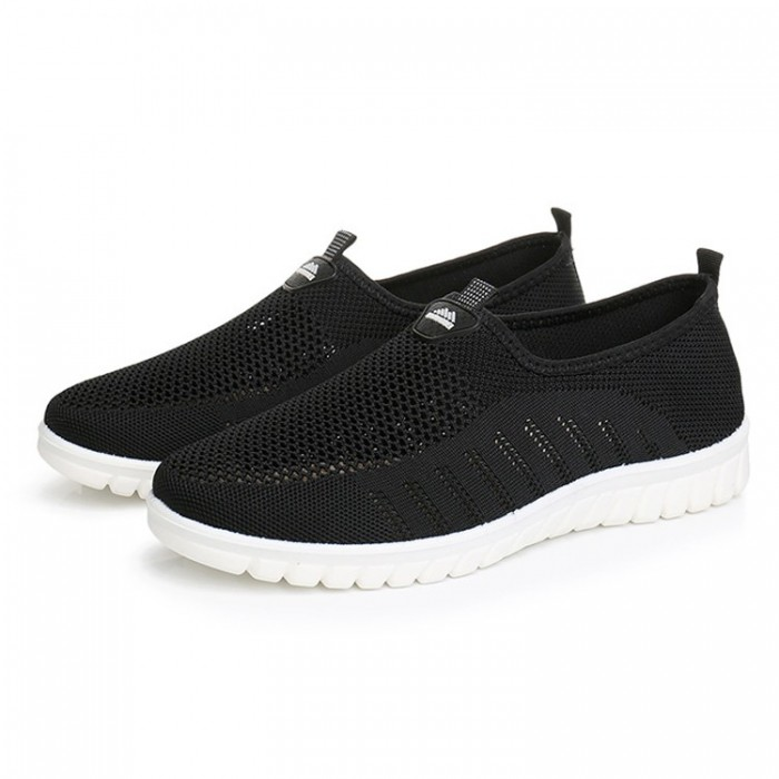 Breathable Mesh Soft Soles Walking Loafers
