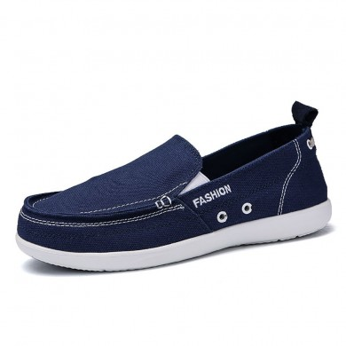 Canvas Comfy Casual Soft Sole Walking Loafers