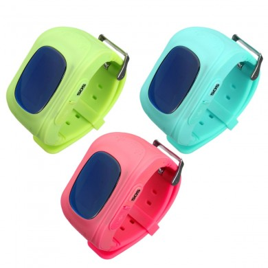 Anti Lost Smart Watch GPS Tracker Monitor di allarme di sicurezza SOS per bambini Animali domestici