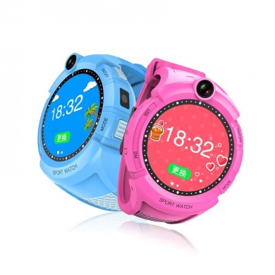 Kids Smartwatches com Camera LBS Localização Child Tough Screenn Impermeável Anti Lost Monitor