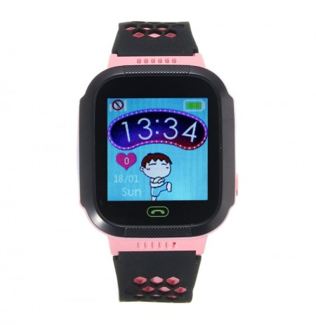 1.44inch сенсорный экран Водонепроницаемы Tracker SOS Call Kids Smart Watch для Android IOS iPhone