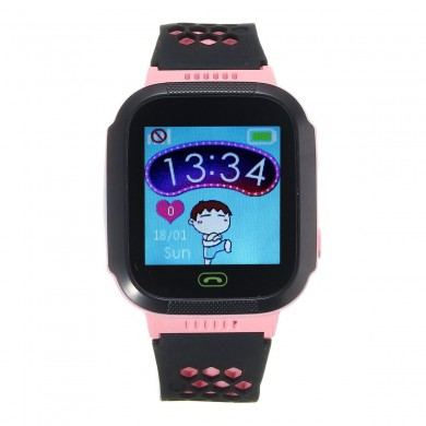 Rastreador impermeável de tela sensível ao toque de 1.44 polegadas SOS Call Children Smart Watch para Android IOS iPhone