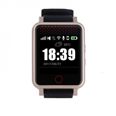 RF-V36 GPS Watch Tracker GPS LBS WiFi Tracking Coração Beat Pressão Sistêmica Lembrete Two Way Talk