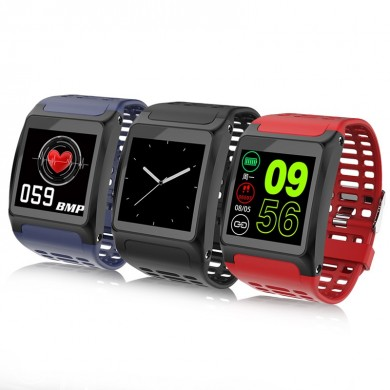 """XANES® Z01 1.3"""" OLED Touch Screen IP67 Waterproof Smart Watch Heart Rate Monitor Fitness Exercise Sports Bracelet"""