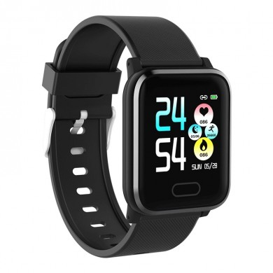 XANES® HI16 1.3'' Color Screen IP67 Waterproof Smart Watch Find Phone Heart Rate Monitor Multiple Sports Modes Fitness Exercise