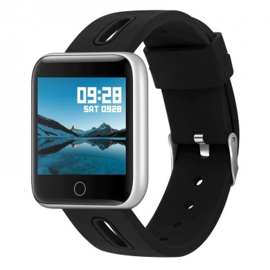 XANES® XM-01 1.3'' IPS Color Screen Waterproof Smart Watch Heart Rate Blood Pressure Monitor Pedometer Fitness Exercise Sports B