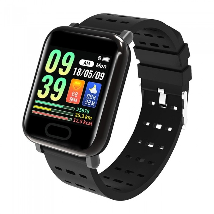 XANES® K9 1 3'' IPS Color Touch Screen IP67 Waterproof Smart Watch Heart  Rate Blood Oxygen Pressure Monitor Fitness Exercise Bra