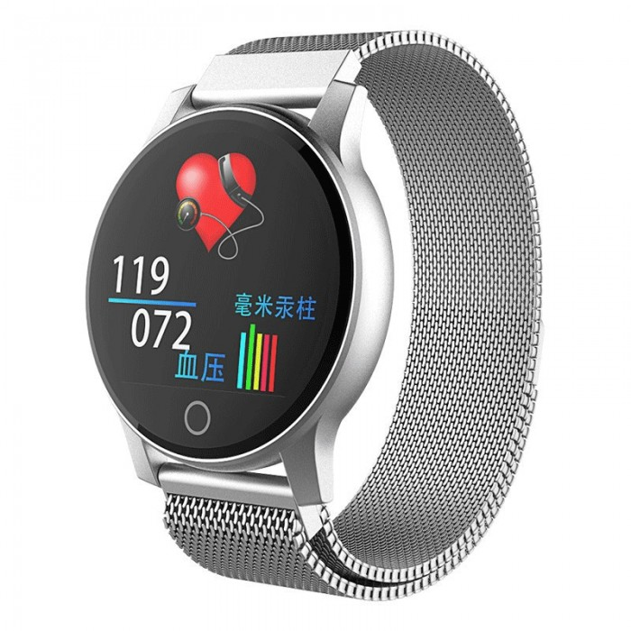 XANES® R2 1.22'' Touch Screen IP67 Waterproof ECG+PPG Heart Rate Smart Watch Remote Care Multiple Sports Modes Fitness Bracelet