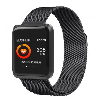 XANES® NB-213 1.3'' Color Screen IP67 Waterproof Smart Watch Heart Rate Monitor Find Phone Multiple Sports Fitness Exercise Brac