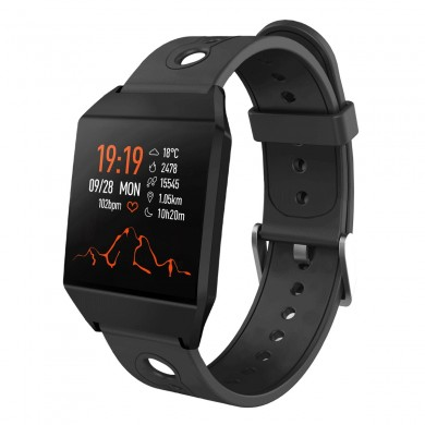 XANES® W13 1.3'' Color Screen IP67 Waterproof Smart Watch GPS Running Blood Pressure Oxygen Monitor Remote Camera Sports Fitness