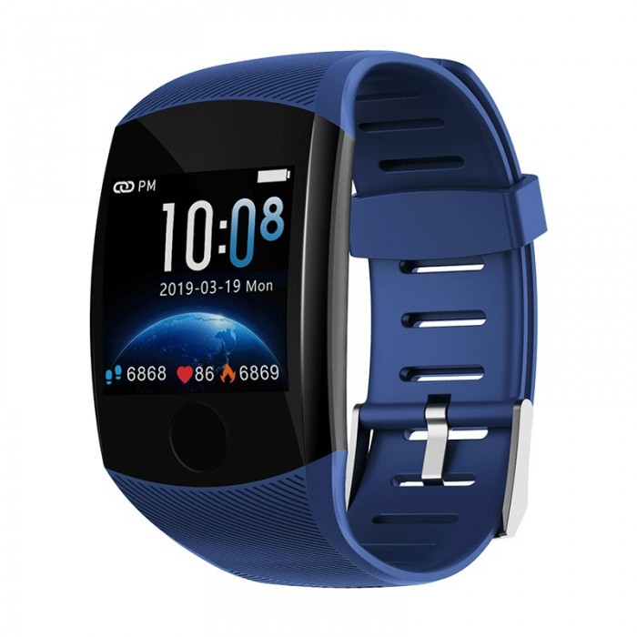 XANES® Q11 1.3'' Single Touch Screen IP67 Waterproof Smart Watch Call Reject Heart Rate Monitor Multiple Sports Modes Fitness Sp