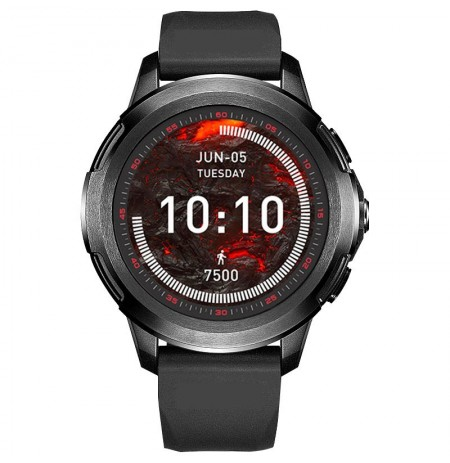 FERACE HY-WS02 4G 512MB+4G/1+8G GPS WIFI Watch Phone 1.3'' AMOLED Screen IP68 Waterproof Smart Watch Multiple Sports Modes Heart