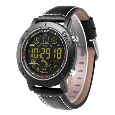 XANES® 1808 3 ATM Impermeable Noctilucent Smart Watch Pasómetro Mensaje Recordatorio Sport Digital Aptitud Pulsera con rastreado