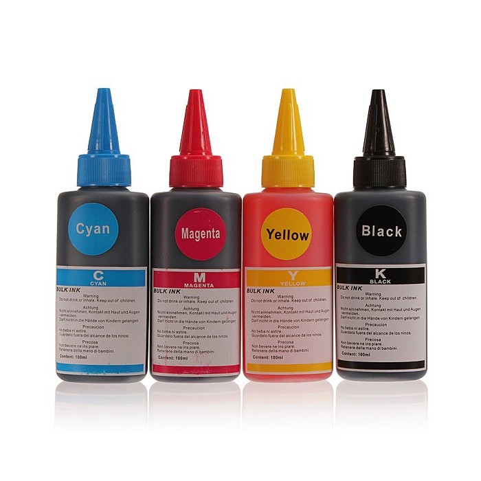100ML Refill Ink for HP Canon Samsung Lexmark Epson Dell Brother Inkjet Printer