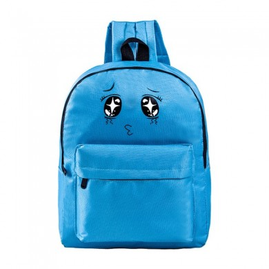 Lovely Cute Expression Canvas Backpack Shoulder Bag School Bags