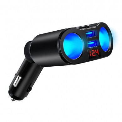 Dual USB Rotatable Car Charger