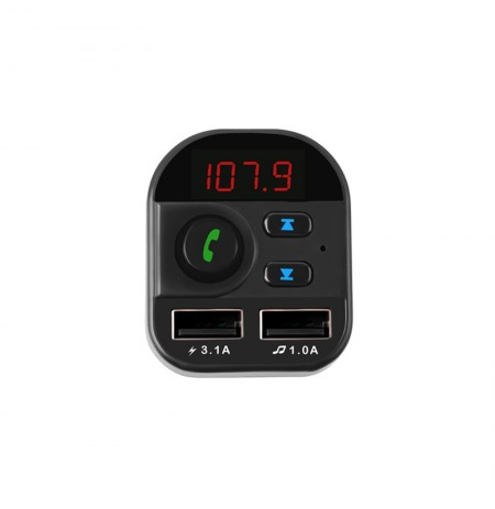805E bluetooth Reproductor de MP3 digital Pantalla Coche Cargador con soporte U Disk TF Coched