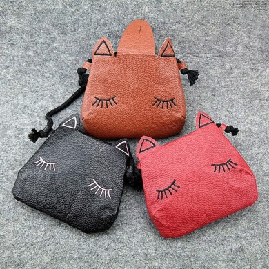 Children Cartoon Cat Crossbody Cute Casual Shoulder Bag for Kindergarten Kids