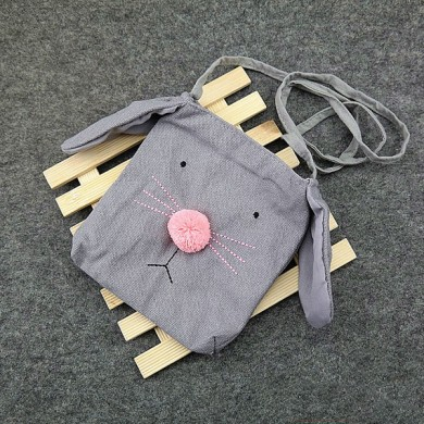 Children Cartoon Rabbit Crossbody Cute Casual Shoulder Bag for Kindergarten Kids