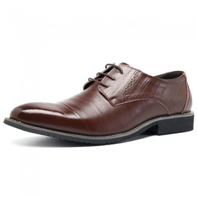 Homens Comfy Brogue Style Business Shoes